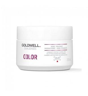 Goldwell Dualsenses Color 60sec Treatment Kaukė dažytiems plaukams, 200ml | inbeauty.lt