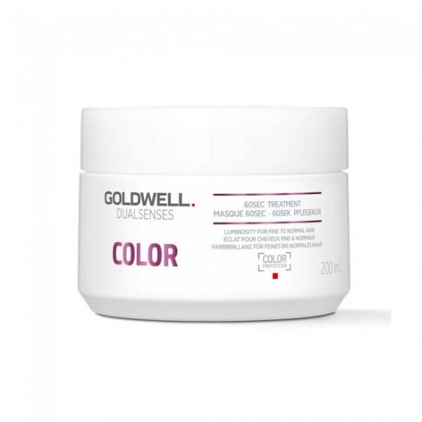 Dualsenses Color 60sec Treatment Kaukė dažytiems plaukams, 200ml