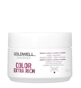 Goldwell Dualsenses Color Extra Rich 60sec Treatment Intensyvi atkuriamoji kaukė, 200ml | inbeauty.lt