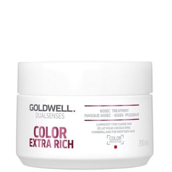 Dualsenses Color Extra Rich 60sec Treatment Intensyvi atkuriamoji kaukė, 200ml