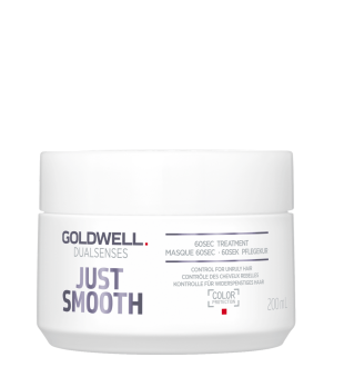 Goldwell Dualsenses Just Smooth 60sec Treatment Glotninanti kaukė, 200ml | inbeauty.lt