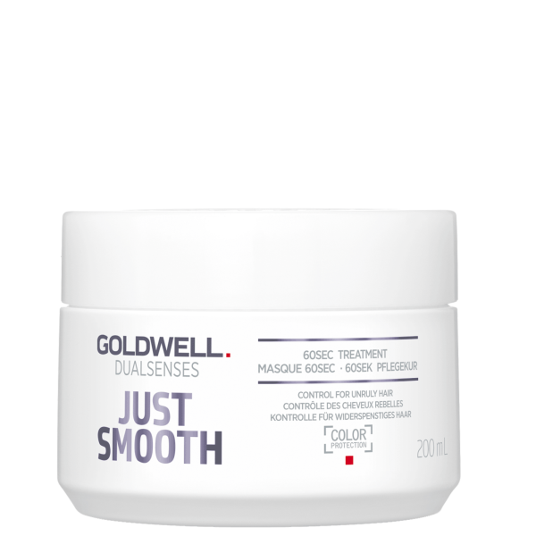 Dualsenses Just Smooth 60sec Treatment Glotninanti kaukė, 200ml