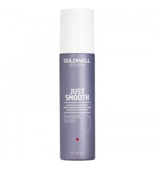 Goldwell Just Smooth Diamond Gloss Apsaugantis ir blizgesio suteikiantis purškiklis, 150ml | inbeauty.lt