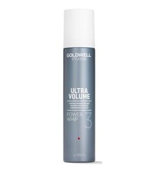 Goldwell Ultra Volume Power Whip Apimties suteikiančios plaukų putos, 300ml | inbeauty.lt