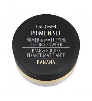 Gosh Prime'n Set Banana Biri pudra, 26g | inbeauty.lt