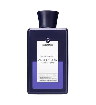 HH Simonsen Shine Bright Anti-Yellow Shampoo Geltonus atspalvius neutralizuojantis šampūnas, 250ml | inbeauty.lt