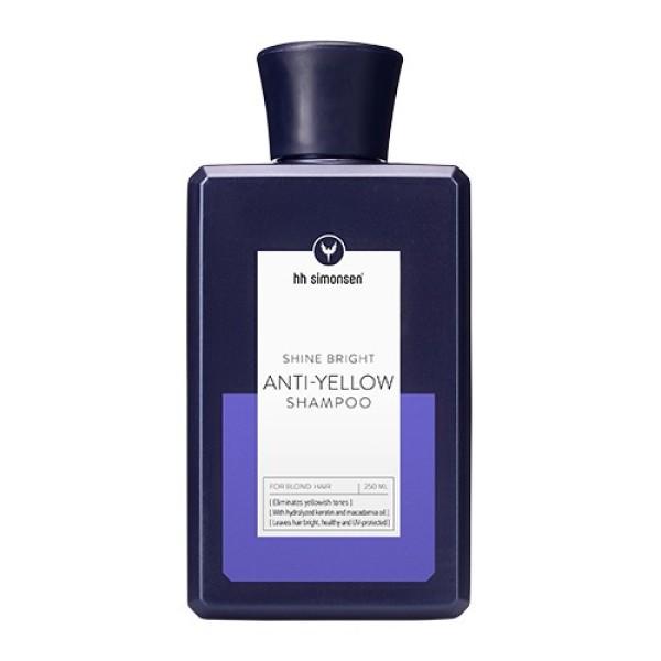 Shine Bright Anti-Yellow Shampoo Geltonus atspalvius neutralizuojantis šampūnas, 250ml