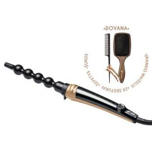 HH Simonsen  ROD VS10 Gold Plaukų garbanojimo žnyplių rinkinys, 1 vnt. | inbeauty.lt