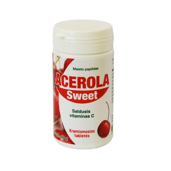 Saldusis vitaminas C – Acerola Sweet N90