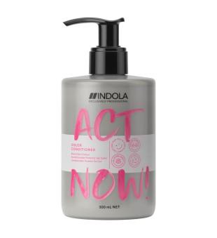 Indola Act Now Color Condiitoner Kondicionierius dažytiems plaukams, 300ml | inbeauty.lt