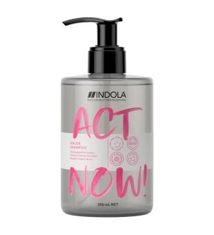 Indola Act Now Color Shampoo Šampūnas dažytiems plaukams, 300ml | inbeauty.lt