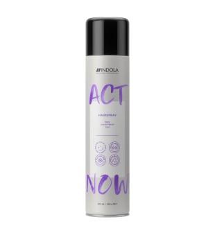 Indola Act Now Hairspray Vidutinės fiksacijos plaukų lakas, 300ml | inbeauty.lt