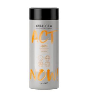 Indola Act Now Volume Powder Apimties suteikianti pudra, 10g | inbeauty.lt