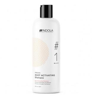 Indola Innova Root Activating Shampoo Plaukų šaknis aktyvuojantis šampūnas, 300ml    | inbeauty.lt