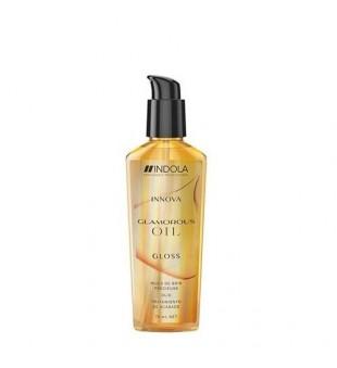 Indola Innova Glamorous Oil Gloss Spindesio suteikiantis plaukų aliejus, 75ml | inbeauty.lt