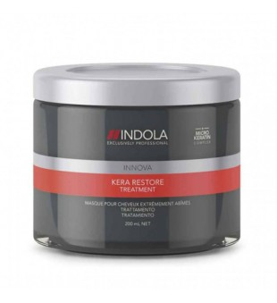 Indola Innova Kera Restore Treatment Mask Atkuriamoji kaukė su keratinu, 200ml | inbeauty.lt