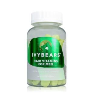 IvyBears Hair Vitamins For Men Plaukų augimą skatinantys vitaminai vyrams, 60 guminukų | inbeauty.lt
