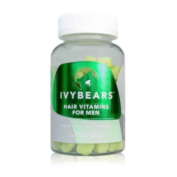 Hair Vitamins For Men Plaukų augimą skatinantys vitaminai vyrams, 60 guminukų
