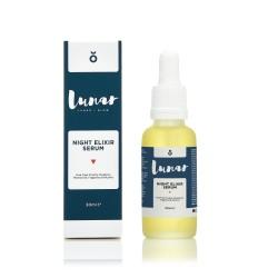 Night Elixir Serum Naktinis veido serumas su vitaminais, 30ml