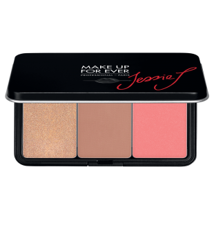 Make Up For Ever Artist Face Color Trio Palette Skaistalų paletė, 3x5g | inbeauty.lt