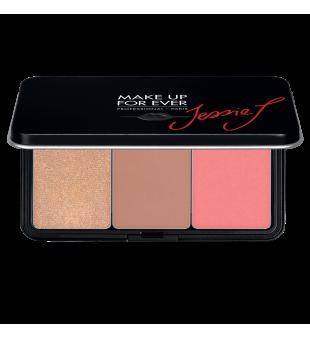 Make Up For Ever Artist Face Color Trio Palette Skaistalų paletė, 3x5g | inbeauty.lt