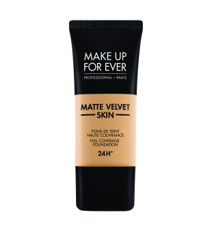 Make Up For Ever Matte Velvet Skin Foundation Stipriai maskuojanti kreminė pudra, 30ml | inbeauty.lt