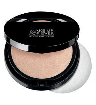 Make Up For Ever Shine On Compact Kompaktinė žvilgesio suteikianti pudra, 10g | inbeauty.lt