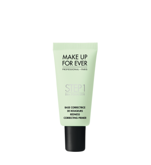 Make Up For Ever Step1 Skin Equalizer Redness Correcting Primer Odos raudonį koreguojantis makiažo pagrindas, 15ml | inbeauty.lt