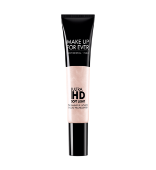 Make Up For Ever Ultra HD Soft Light Liquid Highlighter Skysta švytėjimo suteikianti priemonė, 12ml | inbeauty.lt