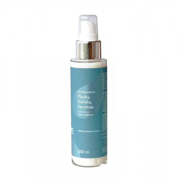 HAIR CLINIC Stiprinantis plaukų galiukų serumas su biotinu ir aminorūgštimis, 100ml