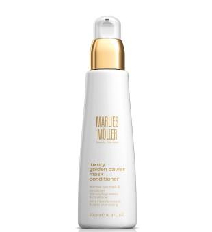 Marlies Möller Luxury Golden Caviar Mask Conditioner Atkuriamoji plaukų kaukė-kondicionierius, 200 ml | inbeauty.lt