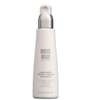 Marlies Möller Pashmisilk Vitality Vitamin Shampoo Drėkinamasis šampūnas su vitaminais, 200 ml | inbeauty.lt