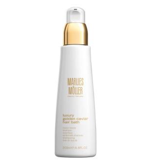 Marlies Möller Luxury Golden Caviar Hair Bath Prabangus plaukų šampūnas su ikrų ekstraktu, 200 ml | inbeauty.lt