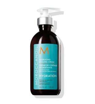 Moroccanoil Hydrating Styling Cream Drėkinamasis plaukų modeliavimo kremas, 300ml | inbeauty.lt