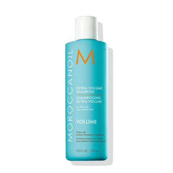 Extra Volume Shampoo Apimties suteikiantis šampūnas ploniems plaukams, 250 ml