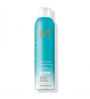 Moroccanoil Dry Shampoo Light Tones Sausas šampūnas šviesiems plaukams, 205ml | inbeauty.lt
