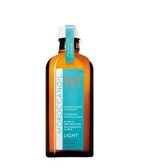 Moroccanoil Treatment For Fine And Light Colored Hair Atkuriamasis aliejus ploniems plaukams, 125ml | inbeauty.lt