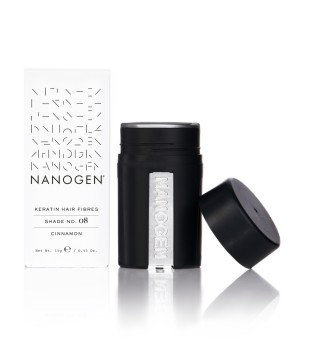 Nanogen Keratin Hair Fibres Plaukų efektą sukurianti pudra-skaidulos, 15g | inbeauty.lt