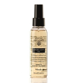 Nook Secret Luxury Light Oil Lengvas aliejus ploniems plaukams, 100ml | inbeauty.lt