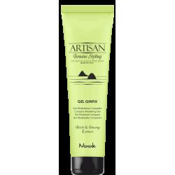 Artisan Gel Ginfix - vidutinės fiksacijos plaukų gelis, 150 ml