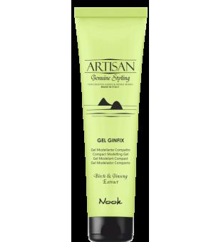 Nook Artisan Gel Ginfix - vidutinės fiksacijos plaukų gelis, 150 ml | inbeauty.lt