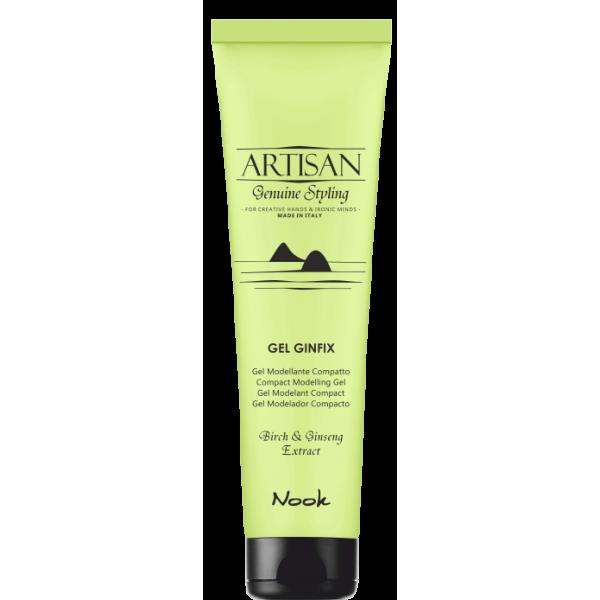 Artisan Gel Ginfix – vidutinės fiksacijos plaukų gelis, 150 ml