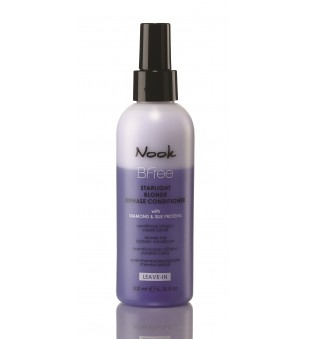 Nook BFree Starlight Blonde Dvifazis, nenuskalaujamas kondicionierius, 200 ml | inbeauty.lt