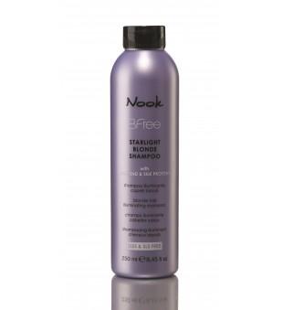 Nook BFree Starlight Blonde Šampūnas šviesiems plaukams, 250 ml | inbeauty.lt