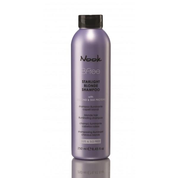BFree Starlight Blonde Šampūnas šviesiems plaukams, 250 ml