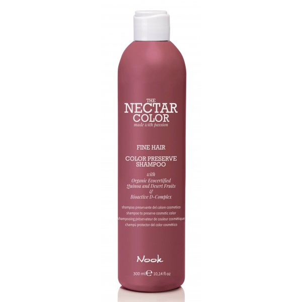 Color Preserve Šampūnas ploniems plaukams pH 5.0 – 5.5, 300 ml