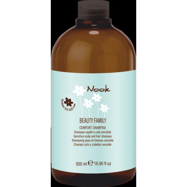 Comfort Jautrią galvos odą raminantis ir drėkinantis šampūnas, 500 ml