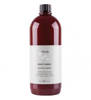 Nook Curl & Frizz Šampūnas banguotiems ir garbanotiems plaukams, 1000 ml | inbeauty.lt