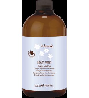 Nook Fly & Vol Purumo ir apimties suteikiantis šampūnas, 500 ml | inbeauty.lt