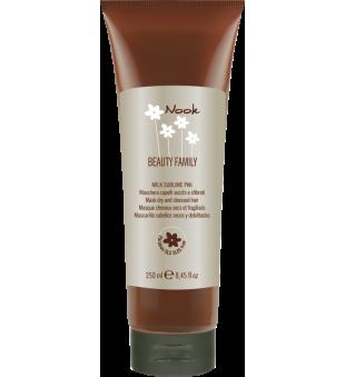 Nook Milk Sublime Kaukė sausiems ir pažeistiems plaukams, 250 ml   inbeauty.lt